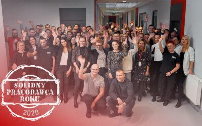 Netbox na liście Solidnych Pracodawców Roku 2020!